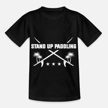 Brett Stand Up Paddling - Kinder T-Shirt
