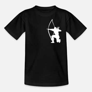 Archer Longbow Archer kneeling stance - Kinder T-Shirt
