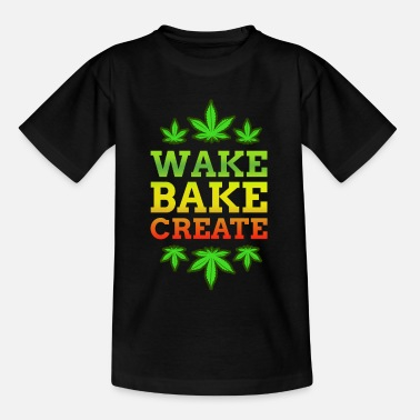 Doping Smoke Weed Cannabis Marijuana Ganja Blunt Joint - Kids' T-Shirt