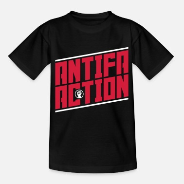 Antifa Antifa action - Kids' T-Shirt