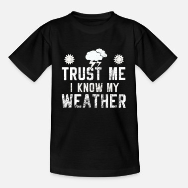 Weather Weather - Kids' T-Shirt