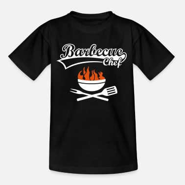 Grillkung  Barbeque Grill barbecue BBQ grilla grillkung - T-shirt barn