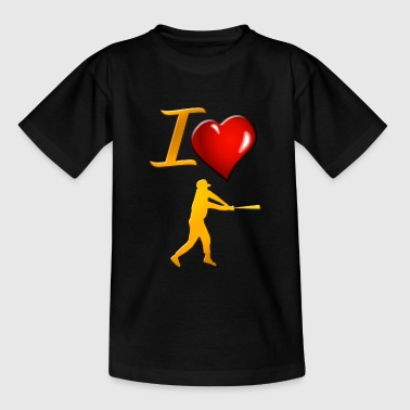 Baseball - Kinder T-Shirt