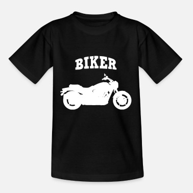 Motocross Biker Motorcycle Motorcyclist - Kids' T-Shirt