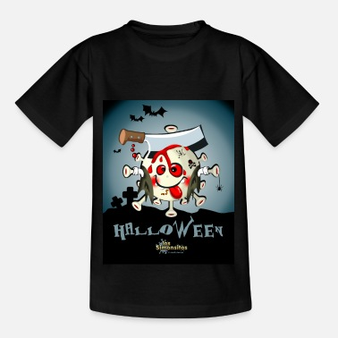Halloween der Simonsitos Alelado Zombie Friedhof - Kinder T-Shirt