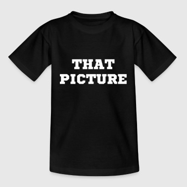 the picture - Kids' T-Shirt