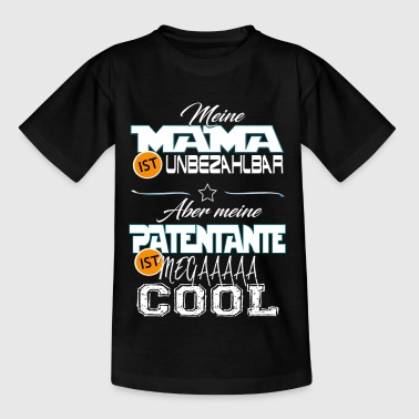 Patentante mega cool - Kinder T-Shirt