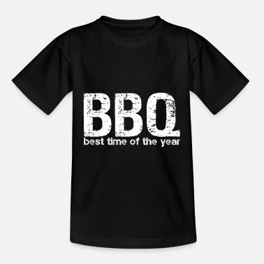 Smoker BBQ Barbecue Gift | best season meat - Kids' T-Shirt