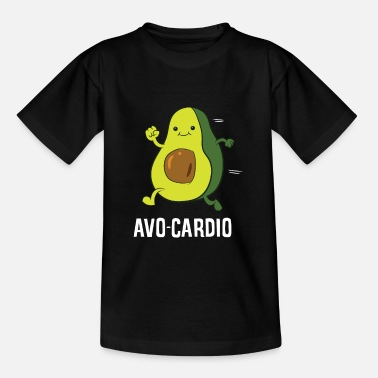 Aguacate Aguacate Aguacate Ejercicio físico Aguacate Aguacate - Camiseta niño