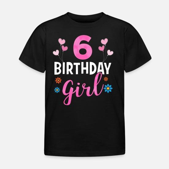 Geburtstagsshirt 6 T Shirts