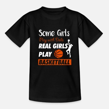 Steal Basketball Player Gift Girl and Women | - Kids' T-Shirt