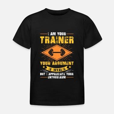 Entrenador Personal Entrenamiento Privado Fitness Musculos - Camiseta niño 186d38a29ad35