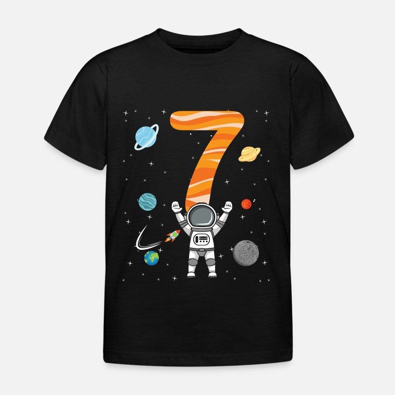 Astronaut Basketball Planet Weltraum Kosmische Kinder Jungen Langarmshirt