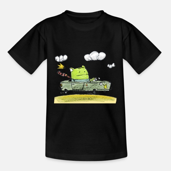 Collection For Kids Camisetas - Rana - Camiseta niño negro