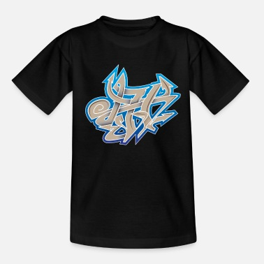 Art Rue Graffiti Graffiti Wildstyle - T-shirt Enfant