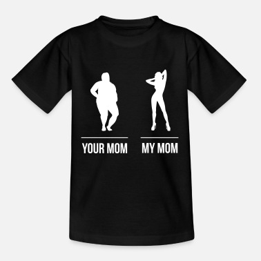 Your Mom vs. My Mom - Kids' T-Shirt