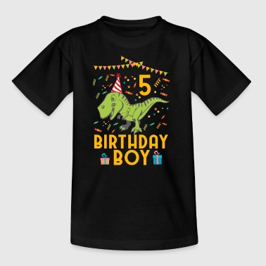 Birthday Boy - 5th birthday - Kids' T-Shirt