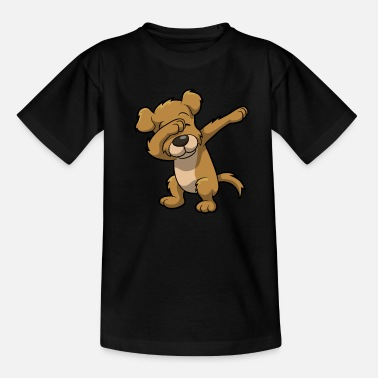 Animal Funny Dabbing dog print - perfect gift for kids - Kids' T-Shirt