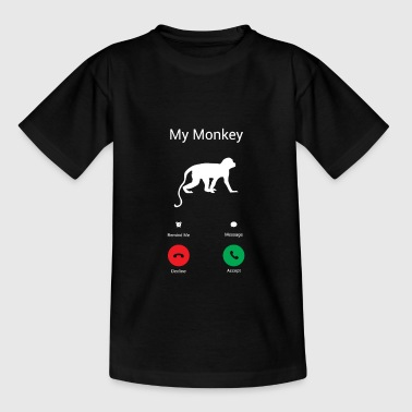 My monkey Gets! - Kids' T-Shirt