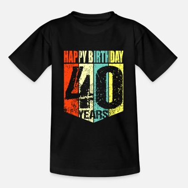 40th Birthday 40th birthday - Kids' T-Shirt