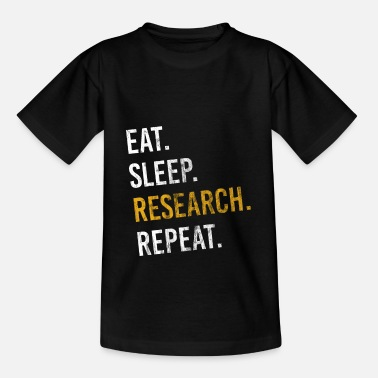 Research Research for journalists - Kids' T-Shirt