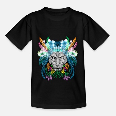 Right Lion Lioness Defender Feline Leo Beast King Gift - Kids' T-Shirt