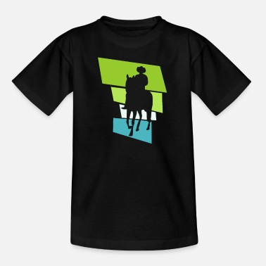 Western Riding Western riding - Kids' T-Shirt