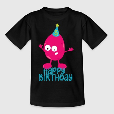 5th birthday, 5th birthday - Kids' T-Shirt