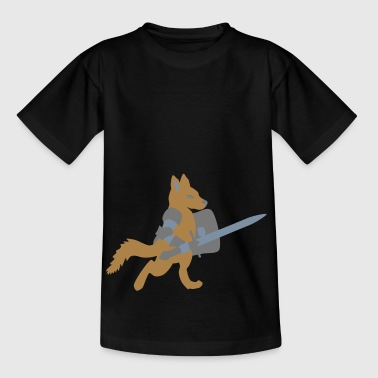 dog knight / chivalry dog - Kids' T-Shirt