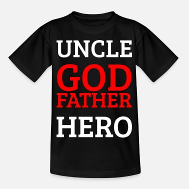 Peetoom Oom Godfather Hero - Kinderen T-shirt