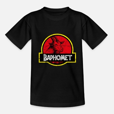 Witchcraft Baphomet Park Occult Satan Witchcraft Gothic - Kids' T-Shirt