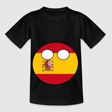 Home Country Countryball Country Home Spain - Kids' T-Shirt