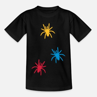 Toxic spiders_uf3 - Kids' T-Shirt