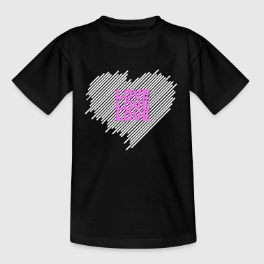 Love Love Love - Kids' T-Shirt