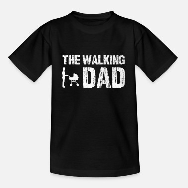 The Walking Dad Papa Kinderwagen - Kinder T-Shirt