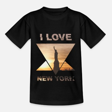 New York NYC Love I Love City - Kids' T-Shirt
