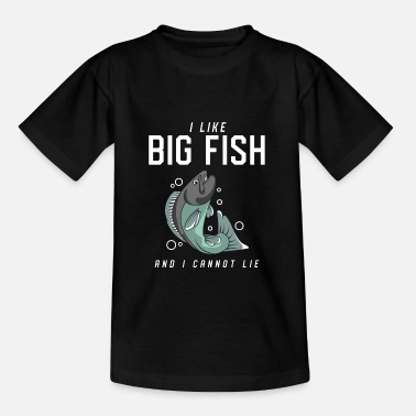 Trout I like big fish and I can't lie - Kids' T-Shirt