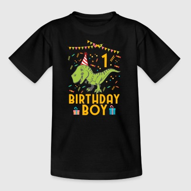 Birthday Boy - 1. Geburtstag - Kinder T-Shirt