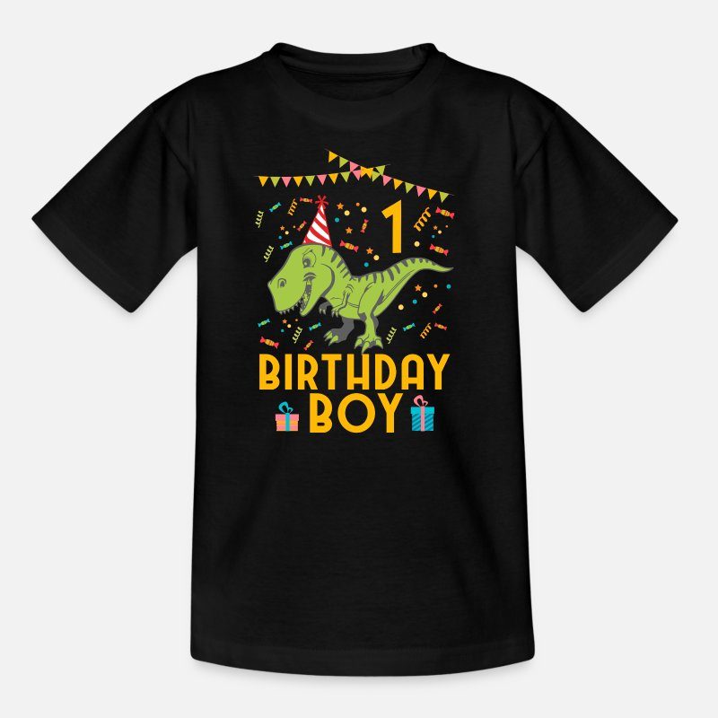 Birthday T-Shirts - Birthday Boy - 1st birthday - Kids' T-Shirt black