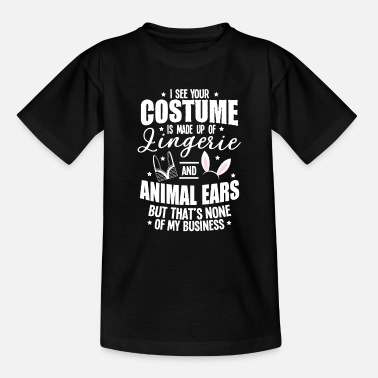 Jack Underwear Halloween Sexy Ears Underwear Costume Gifts - Kids' T-Shirt
