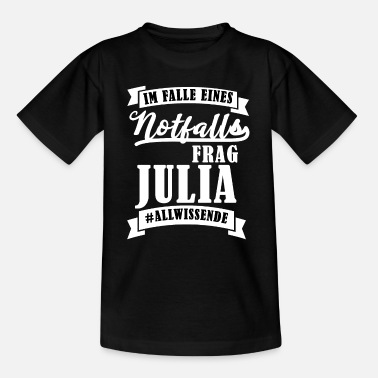 Julia Name - Kinder T-Shirt