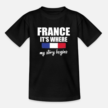 Bordeaux France Where my story begins - Kids' T-Shirt