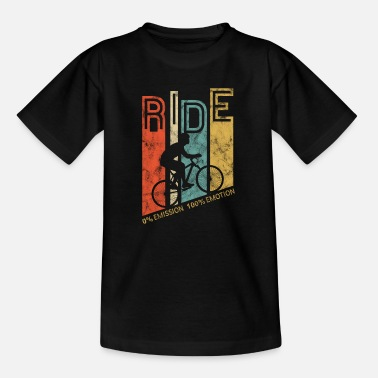 Cycling Bicycle retro gift - Kids' T-Shirt