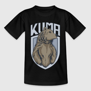 Kuma / bear - bear motif - Kids' T-Shirt