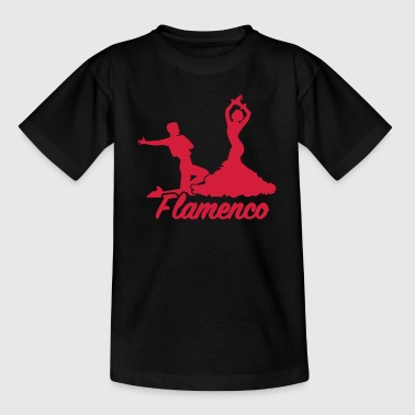 Flamenco Tänzerin Flamenco - Kinder T-Shirt