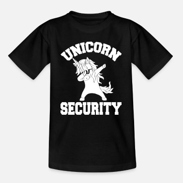 Birthday Unicorn Security Shirt Magical Costume Tee Cute Gu - Kinder T-Shirt