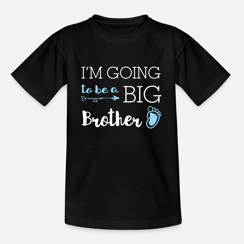 Offspring T-Shirts - I'm going to be a big brother - big brother - Kids' T-Shirt black