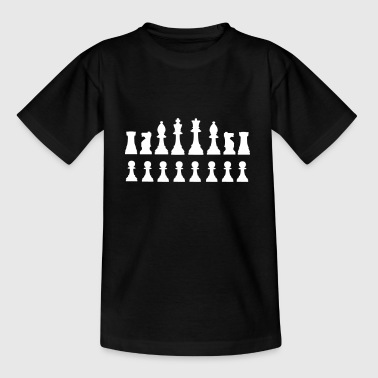 Schachfiguren - T-shirt barn