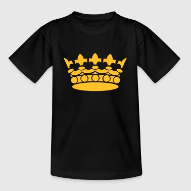 Crown Winner King Queen Princess - Kinderen T-shirt
