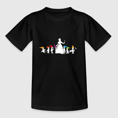 Snow White and the Seven Dwarfs - Kids' T-Shirt